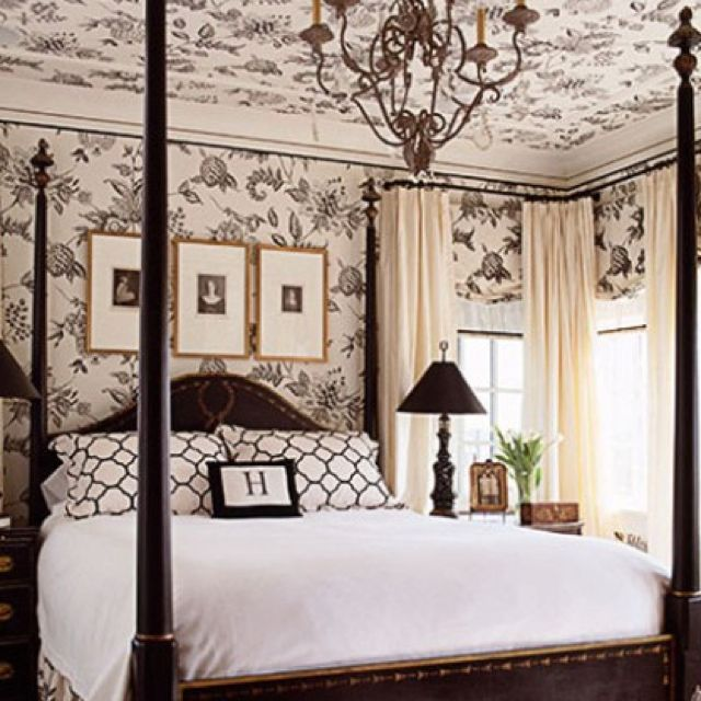 Bedroom Decorating Ideas Totally Toile: Pin By Angela Arrowood On For The Home