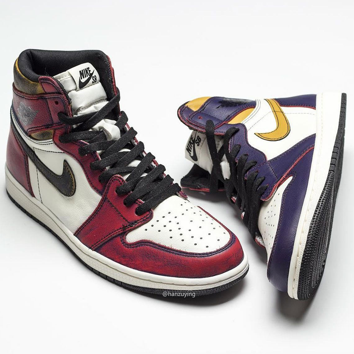 website for discount the cheapest shop best sellers Air Jordan 1 SB Shoes - Lakers Bulls | Air jordans, Jordan 1, Nike sb