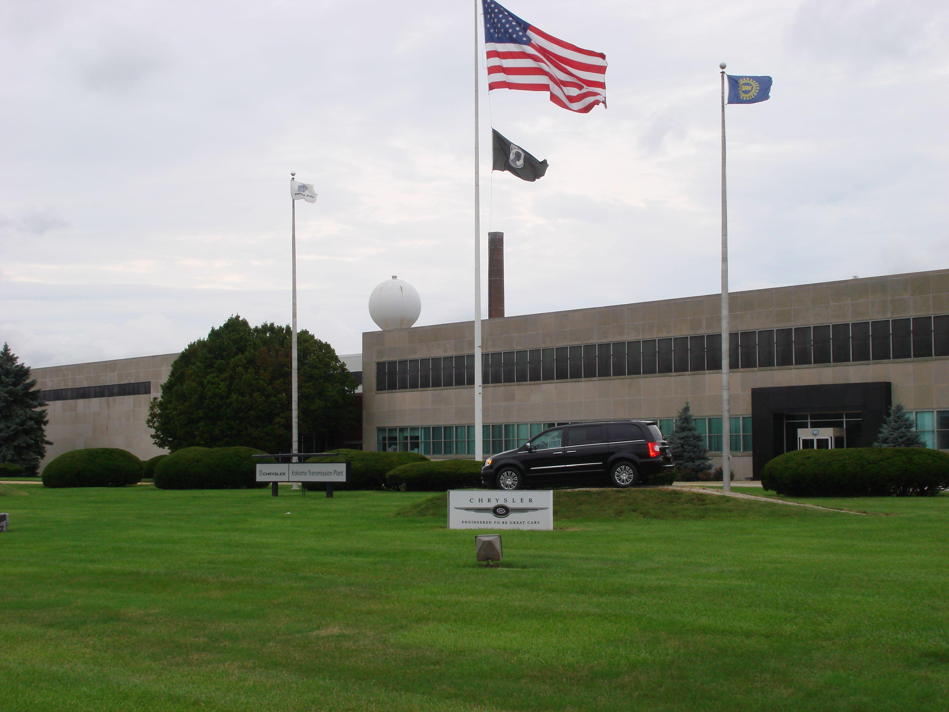 Chrysler kokomo transmission plant kokomo casting and