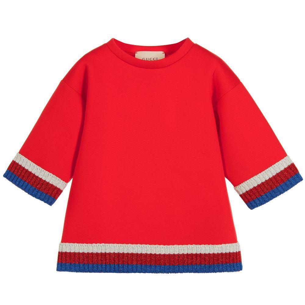 10e67bd620c9 Girls Red Neoprene Top