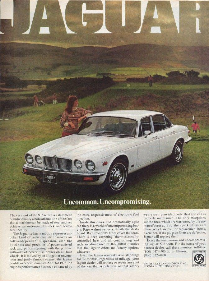 1984 Jaguar xj6 | Productioncars.com - Vintage Car Ads