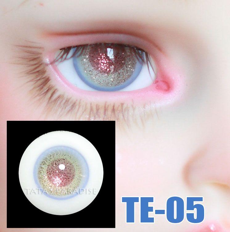 NEW BJD SD MSD LUTS Eyes 16mm Dark Brown Color Dollfie Glass Eyes