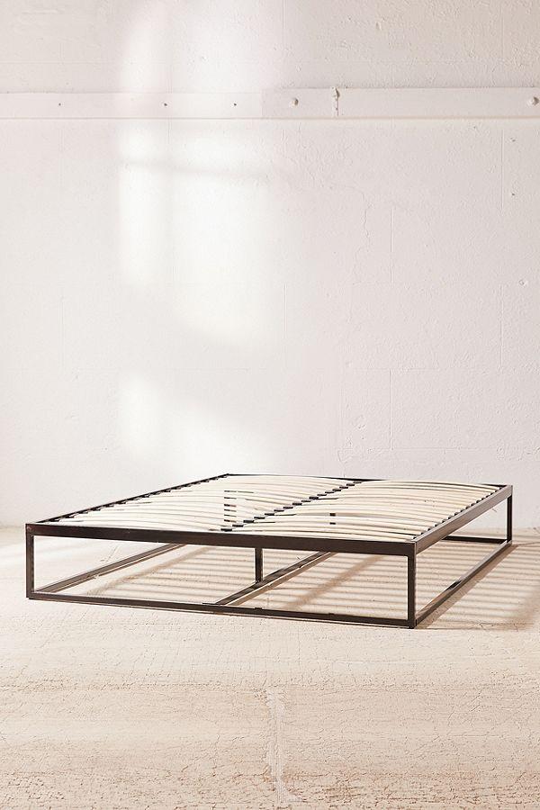 Minimal Platform Bed Frame | Pinterest | Platform bed frame, Bed ...