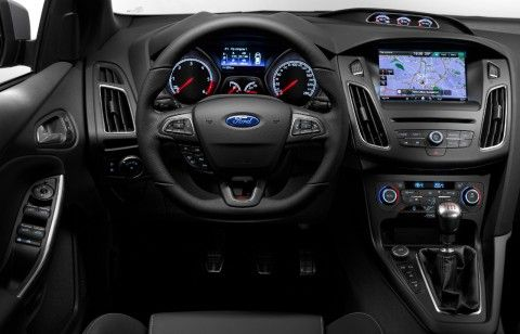 2015 Ford Focus St Redesigned Instrument Panel And New Flat