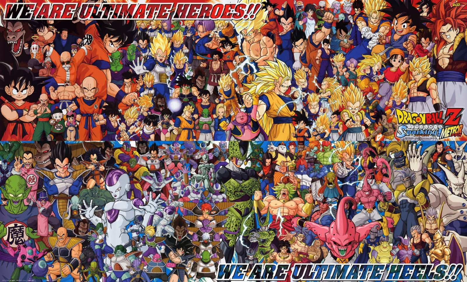 All DBZ characters, All characters | Character Design Week ...