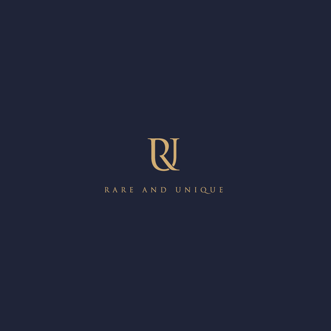 rare and unique needs its first logo design luxury goods sourcing