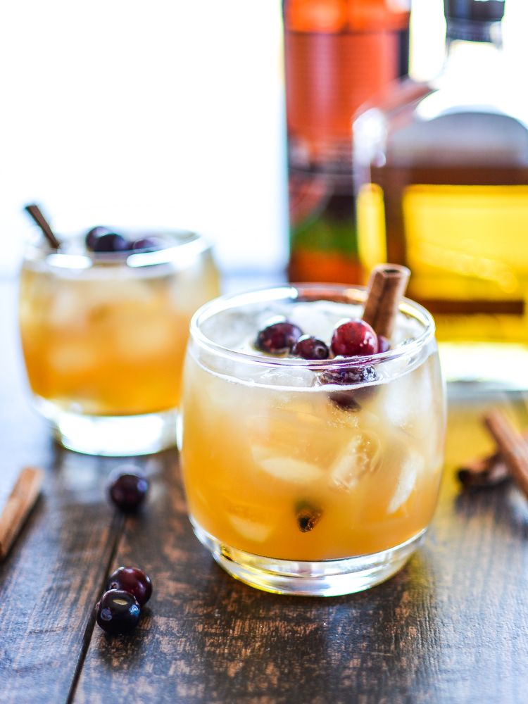 It's like pumpkin pie and apple pie with alcohol. What more could you ask for? Get the recipe from Cooking and Beer.   - Delish.com