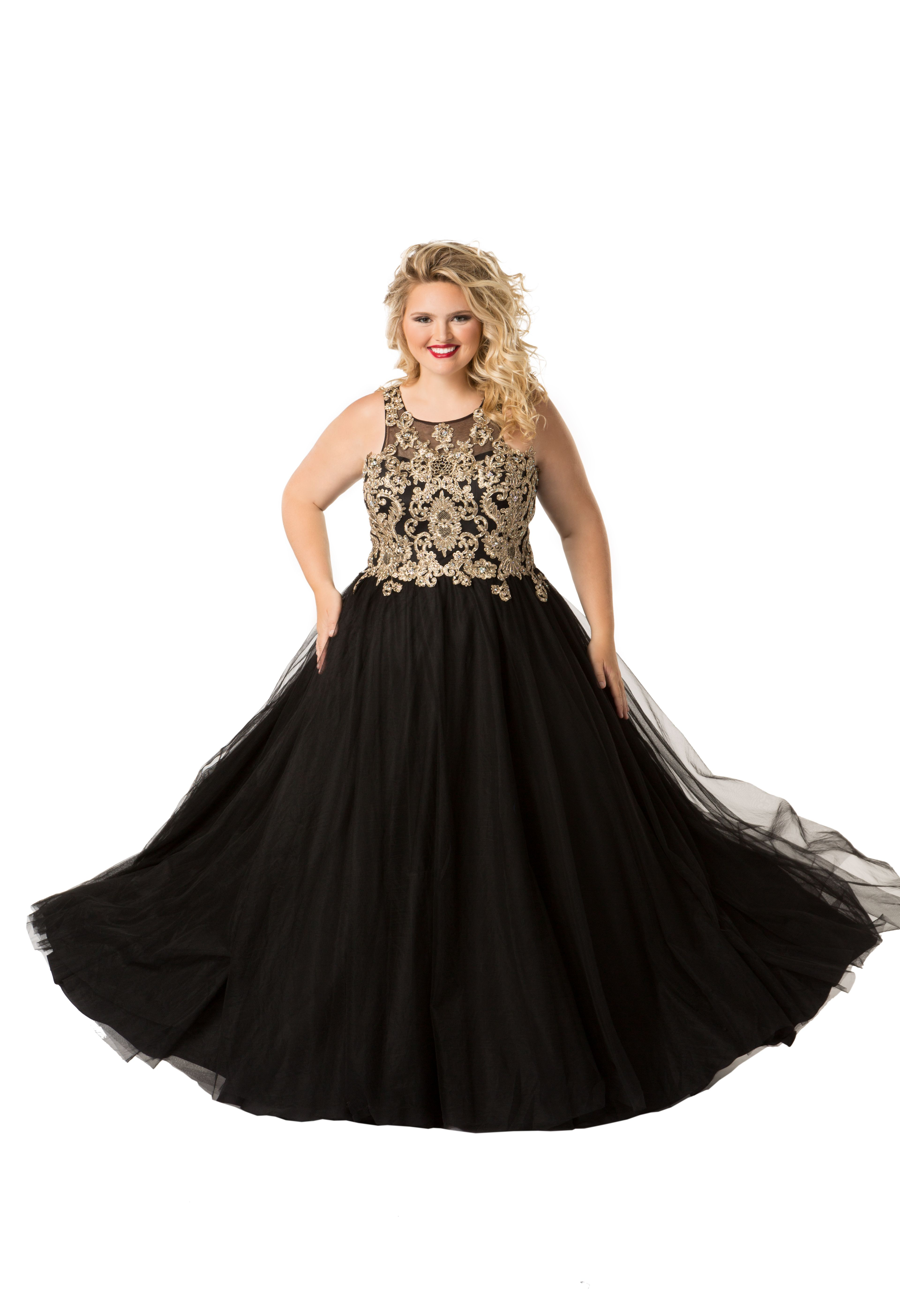 Majestic Queen Prom Dress in 2019 | Plus Size Prom Dresses | Prom ...