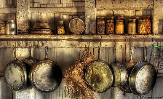 old country kitchen for-the-home