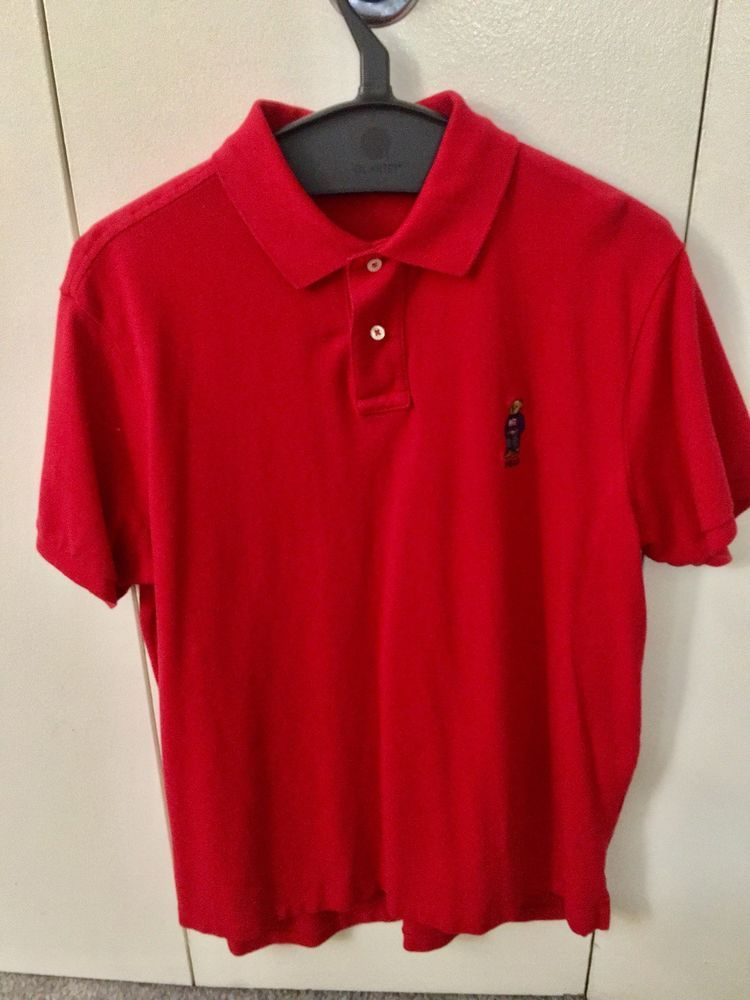 032ec827 Polo Ralph Lauren Men's Custom Fit Bear Logo Mesh Solid Polo Shirt #fashion  #clothing #shoes #accessories #mensclothing #shirts (ebay link)