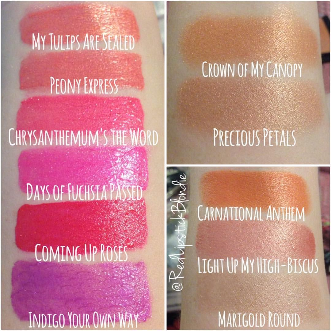 Swatches of the wet n wild Summer 2016 collection! Left