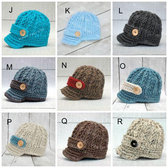 Baby newsboy hat, baby boy hat, newborn boy hat, newborn boy photo ...