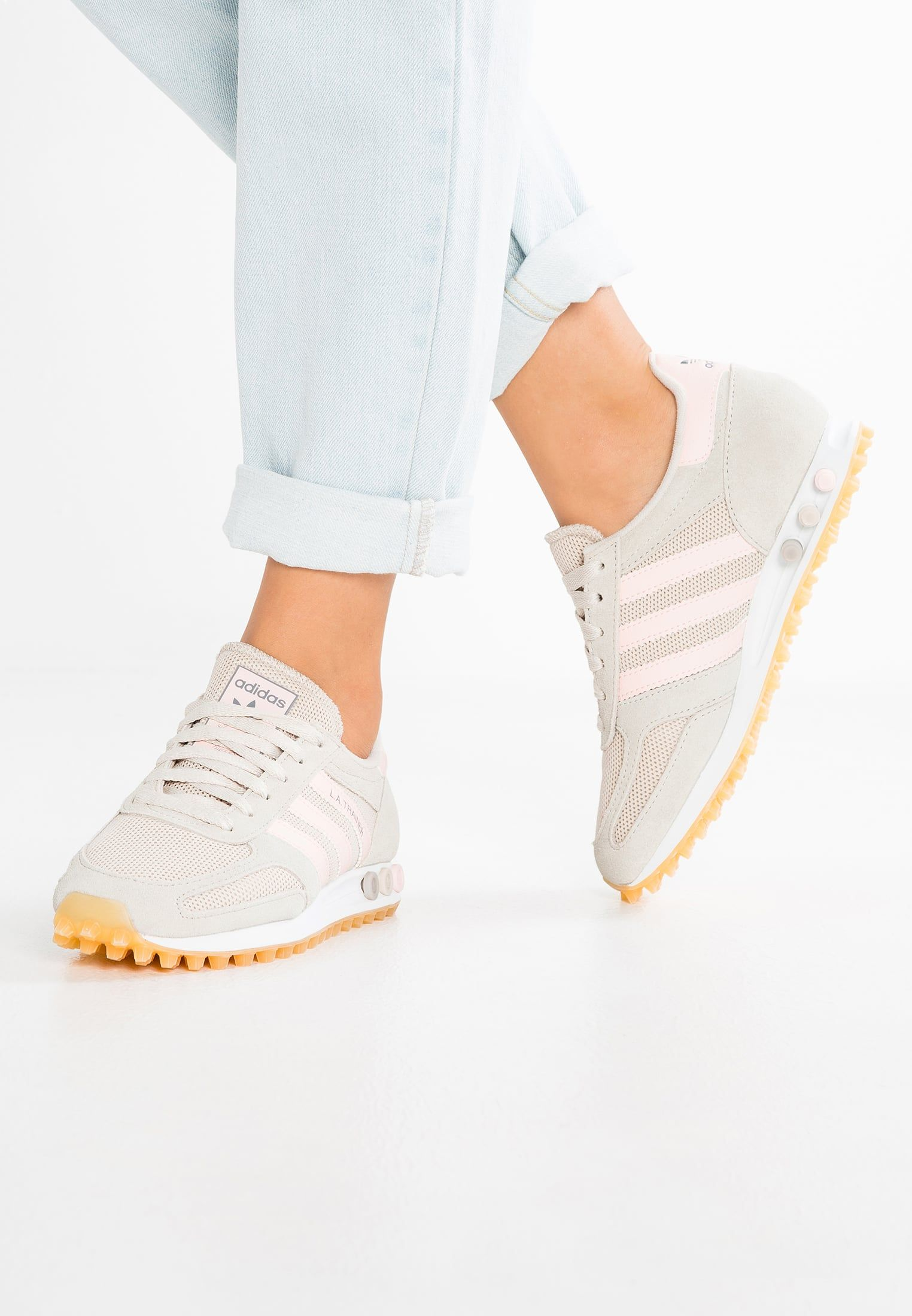 detailing a0e59 ed5ca adidas Originals LA TRAINER OG - Sneakers basse - clear brown ice  pink light brown