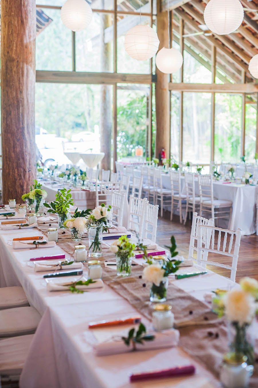 rezza and aziana's minimal rustic wedding reception at enderong