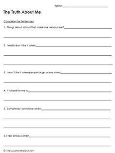 Behavioral Mental Health Worksheets   Therapy worksheets ...