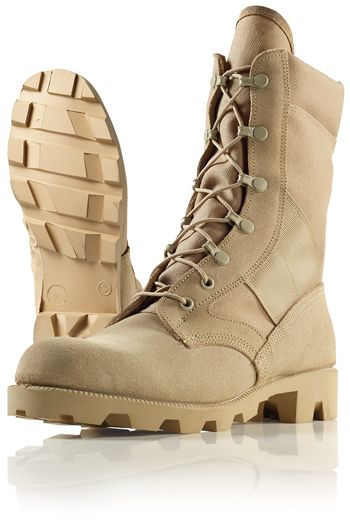 Rothco 5057 Desert Tan Speedlace Combat Boot with Panama Sole ...