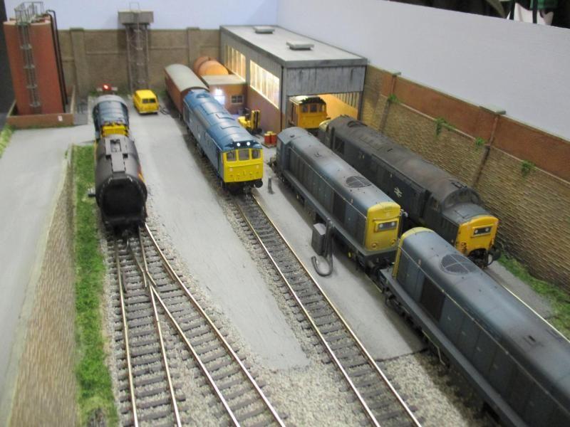 Depot Lane - Boxfiles, Micro layouts & Dioramas - RMweb