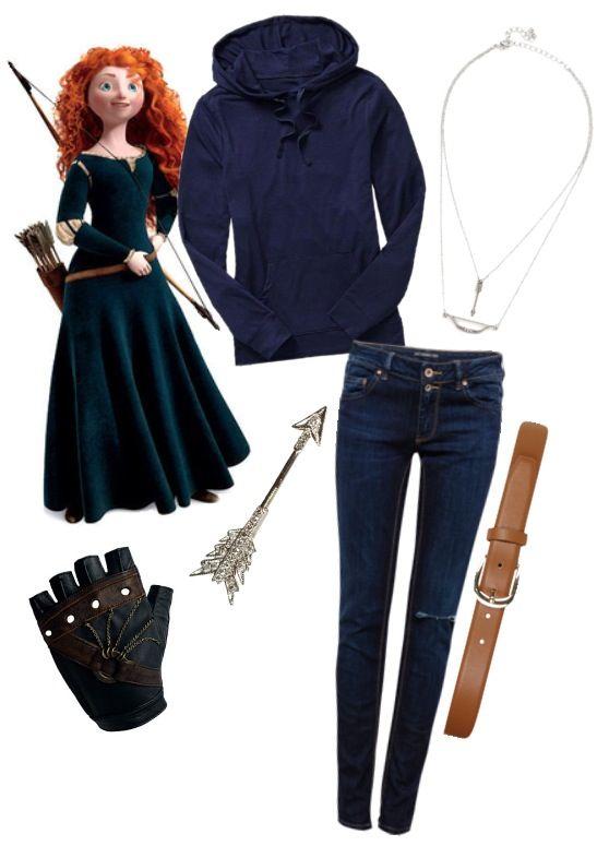 How To Dress Like Merida Brave Dress Like Your Favorite