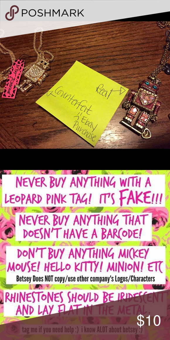a7712ab969d Authentic or Counterfeit   Don t be fooled. As a Betsey Johnson collector