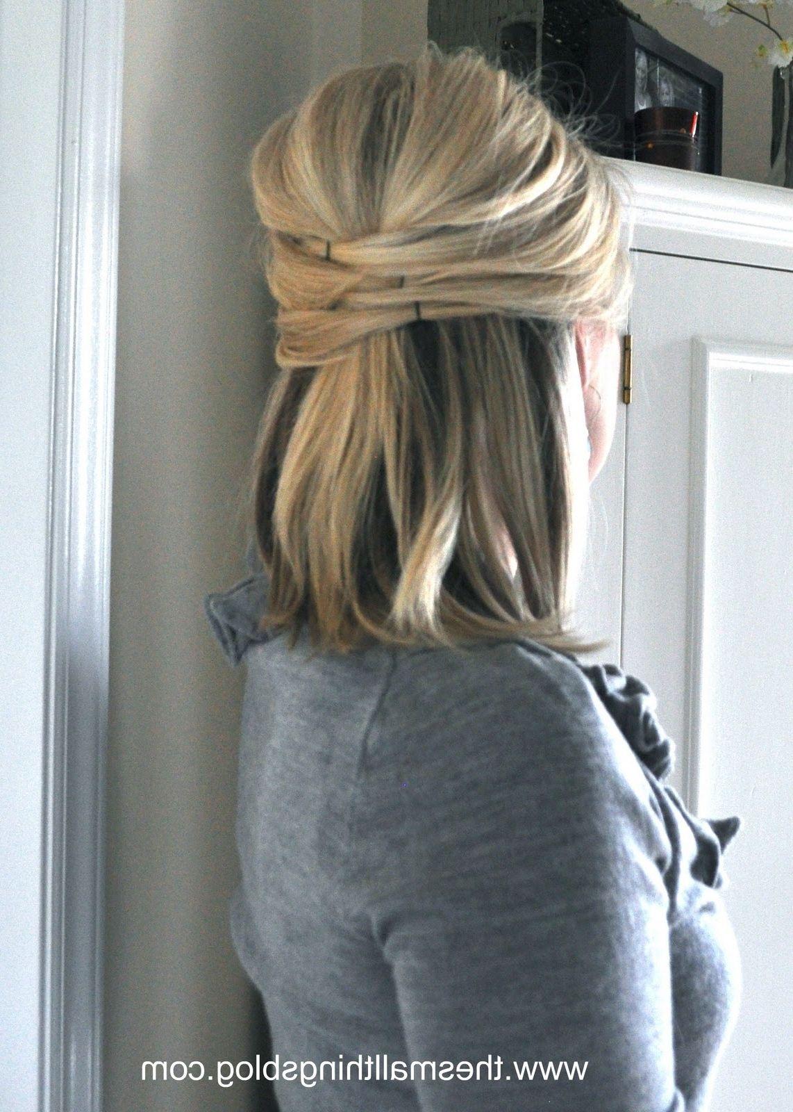 Wedding Hair Half Up Half Down Short Hair For Your Wedding Fantasy Weddinghair Xyz Hair Styles Short Hair Styles Long Hair Styles