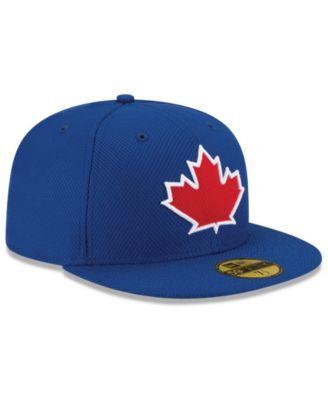 wholesale dealer 059e6 8bff4 New Era Kids  Toronto Blue Jays Authentic Collection 59FIFTY Cap - Black 6 3  4