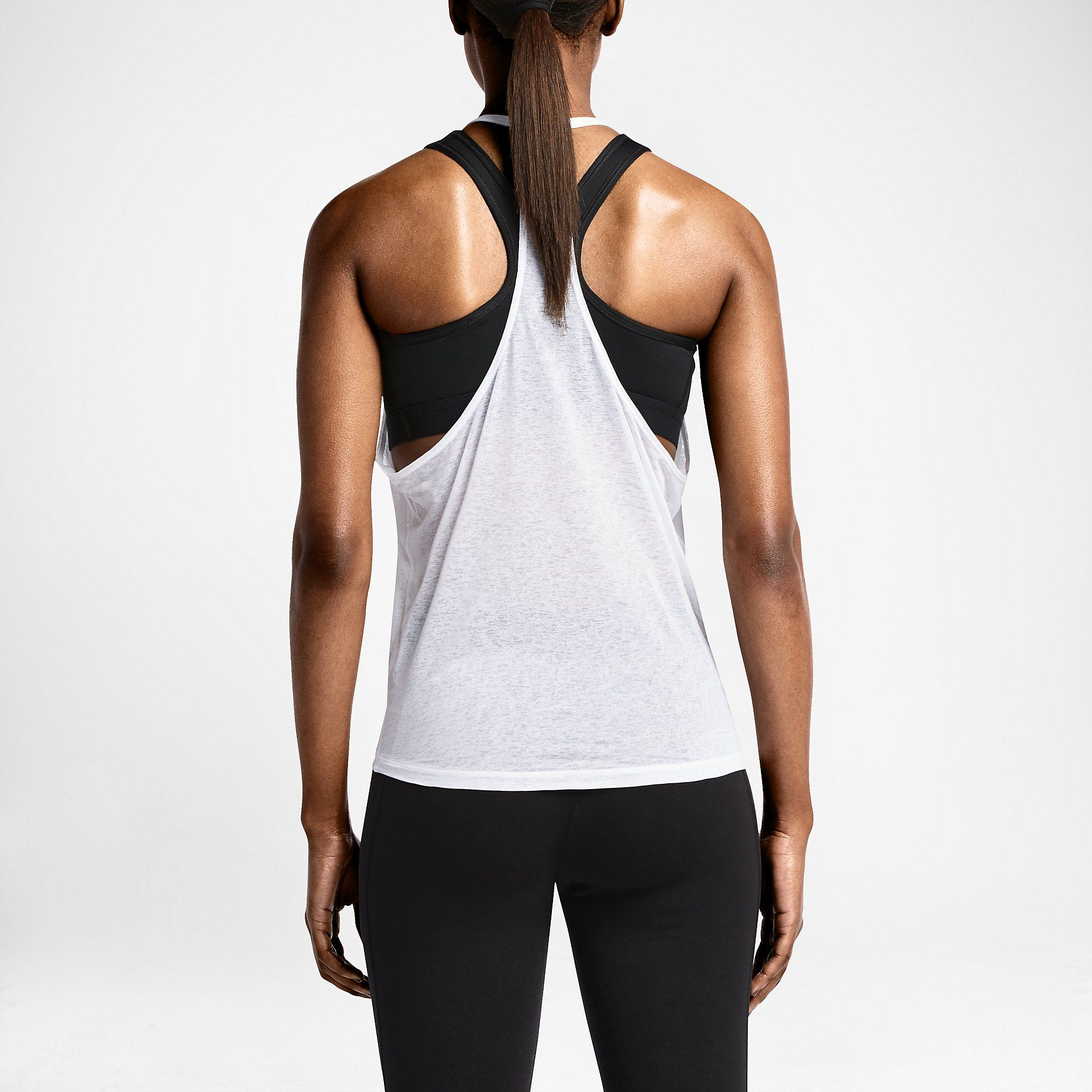 Nike Burnout Fly Camiseta de tirantes de entrenamiento - Mujer. Nike Store ES