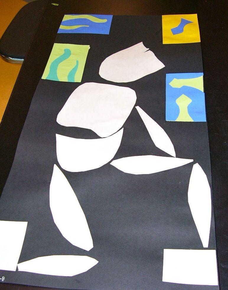 Matisse and the Eye Path   Georgetown Elementary Art Blog
