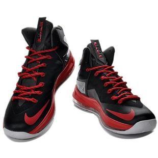 finest selection ed6fb 9a1aa www.asneakers4u.com Nike LeBron 10 P.S. Elite Black Red White0