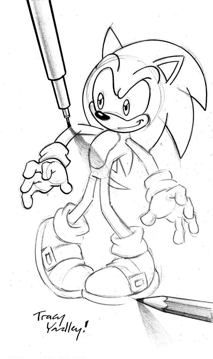 Tracy Yardley My Favorite Sonic The Hedgehog Artist Base My