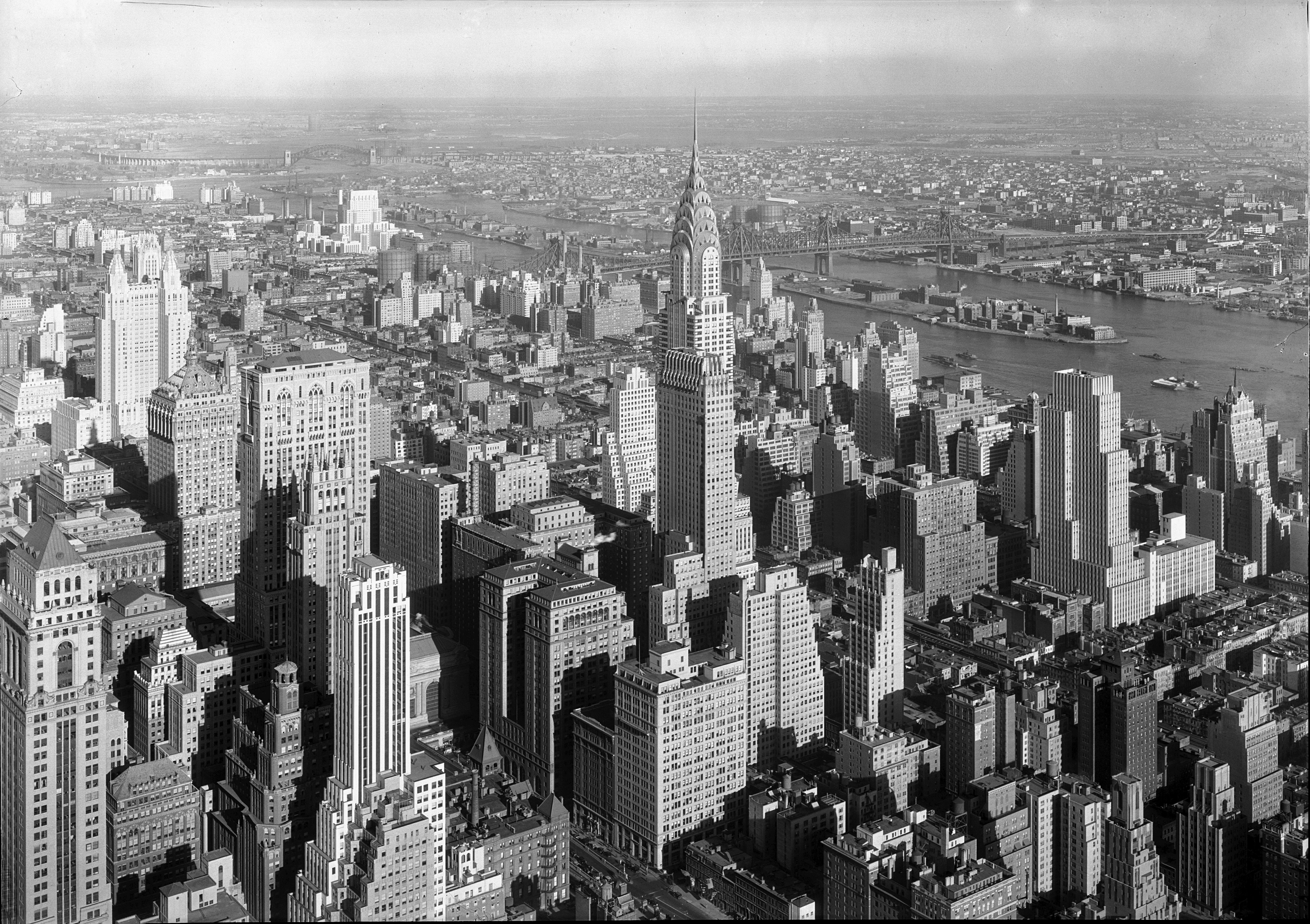 Coloriage Adulte New York.Chrysler Building Gottscho Schleisner Collection Library