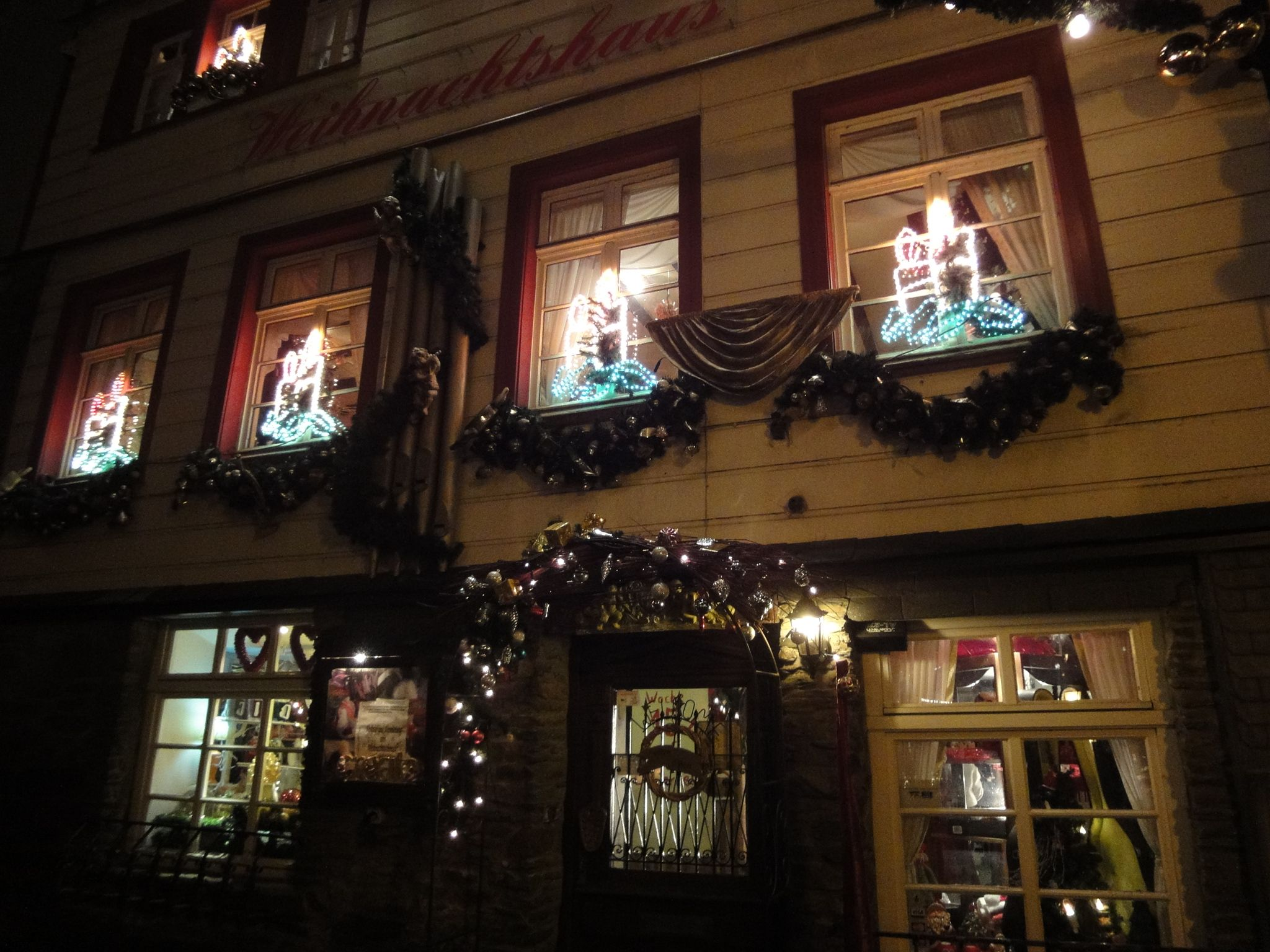 Weihnachtshaus in Monschau flugsziele nrw