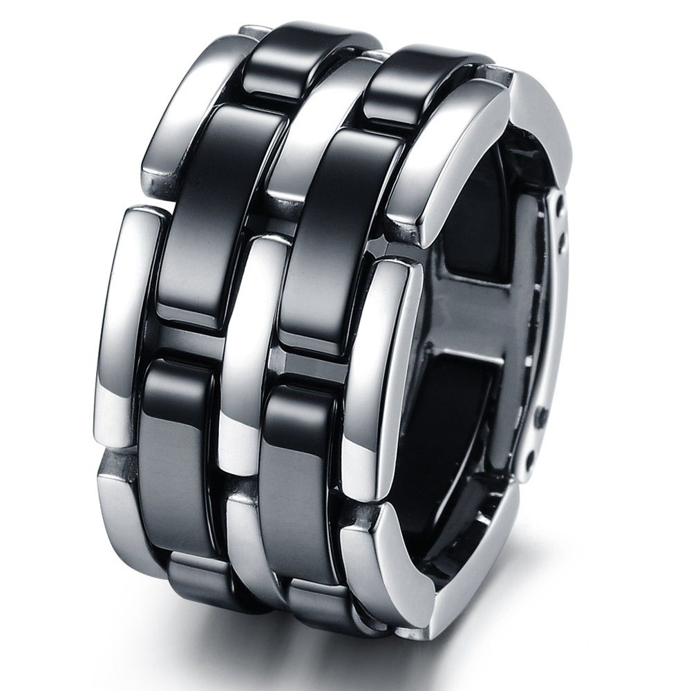 Fashion stainless steel bands foldable chain mens ladies