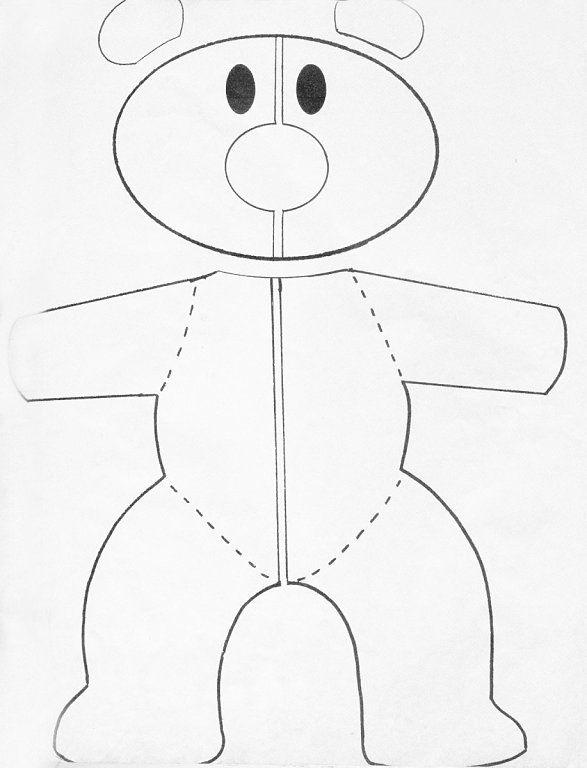 Patrones oso de peluche gigante - Imagui | osos | Pinterest | Osos ...