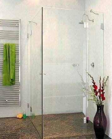 bxe b ndige eck duschkabine 2 t ren klarglas chrom h. Black Bedroom Furniture Sets. Home Design Ideas