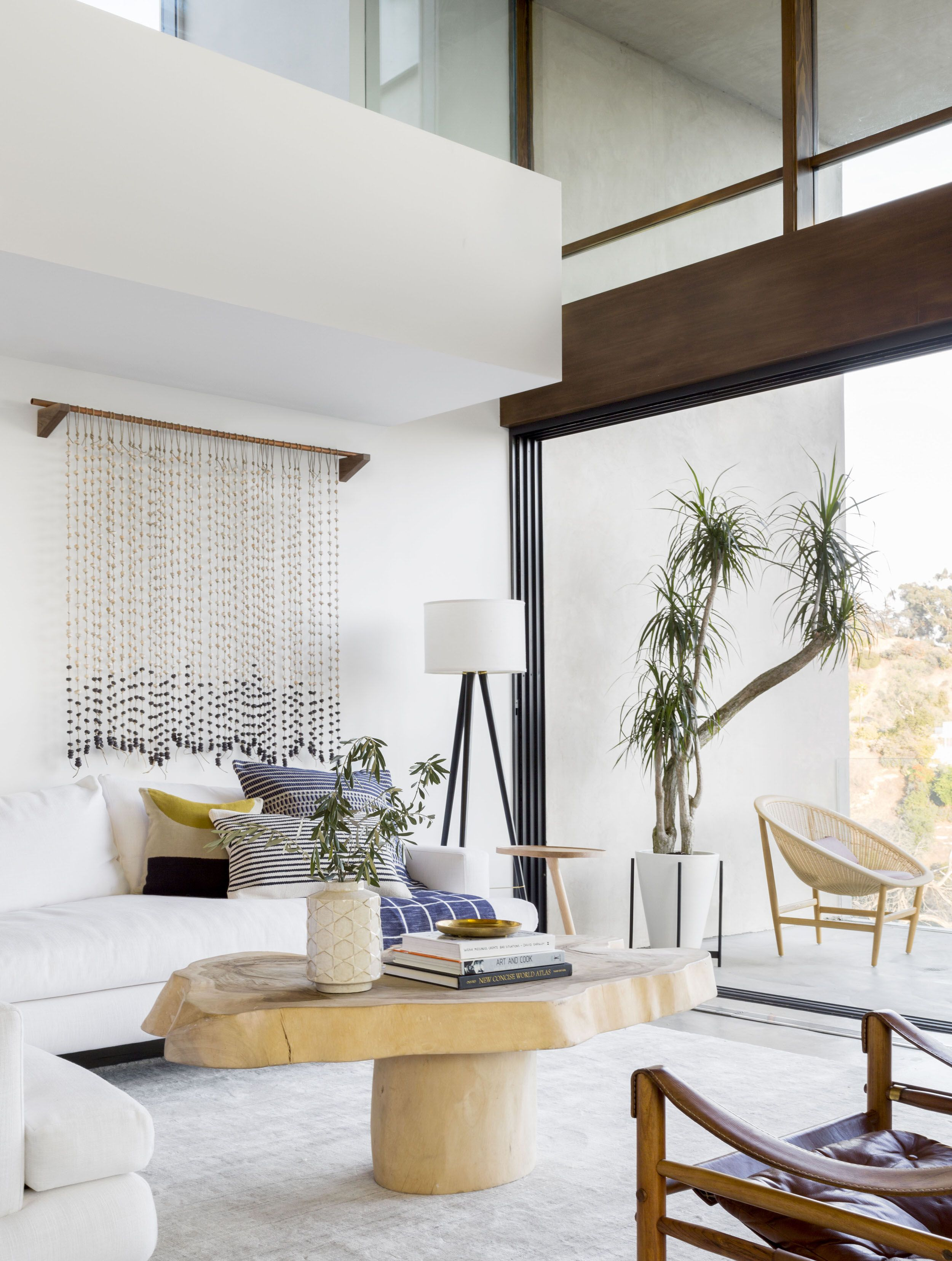 A Modern and Organic Living Room Makeover | Pinterest | Living rooms ...