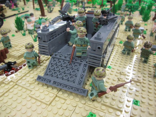 Incredible 500,000-Piece Lego Recreation of Famous World War II ...