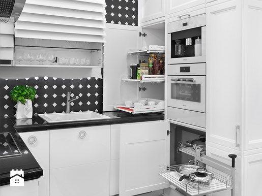 Jak urządzić małą kuchnię w bloku? Zobacz sprytne rozwiązania - Homebook.pl   Kitchens & OTHER ...