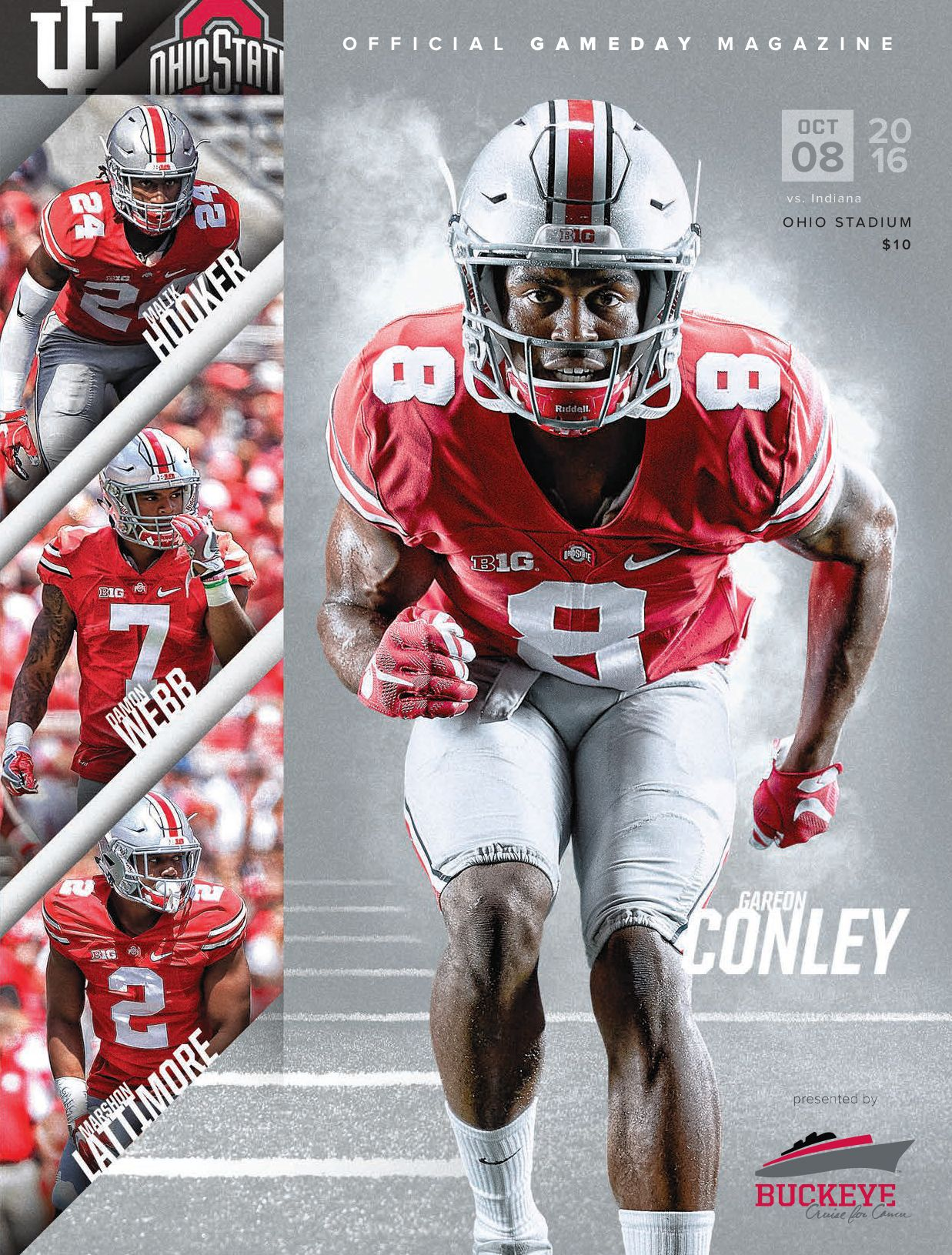 The Official Gameday Magazine Of Ohio State Buckeyes Football Vs