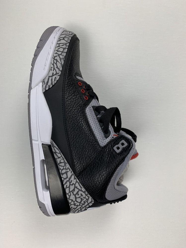 1bb56ff6f7117 Jordan Black Cement 3 #fashion #clothing #shoes #accessories ...