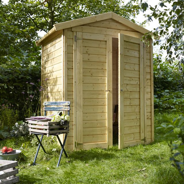 abri de jardin en bois junior castorama abri de jardin. Black Bedroom Furniture Sets. Home Design Ideas