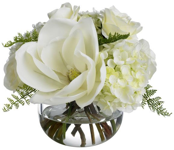 Pin By Susan Herring On Country Chic White Magnolia Bouquet Magnolia Wedding Wedding Centerpieces
