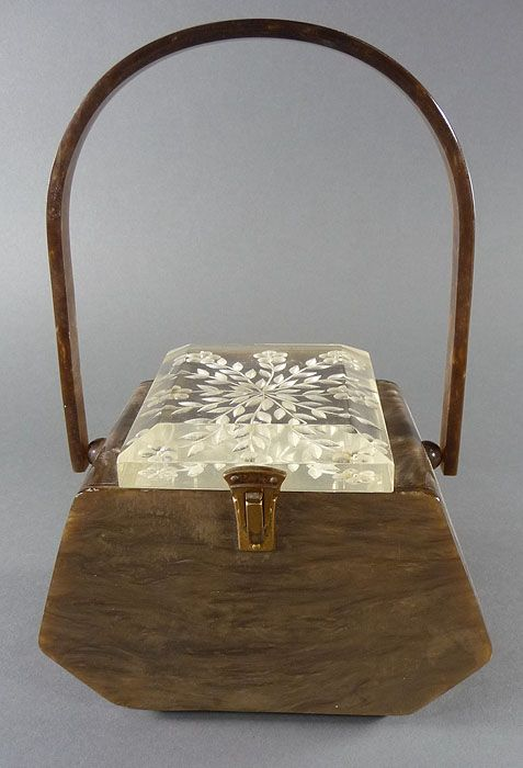 Llewelyn Purse Details About Vintage Lucite Llewellyn