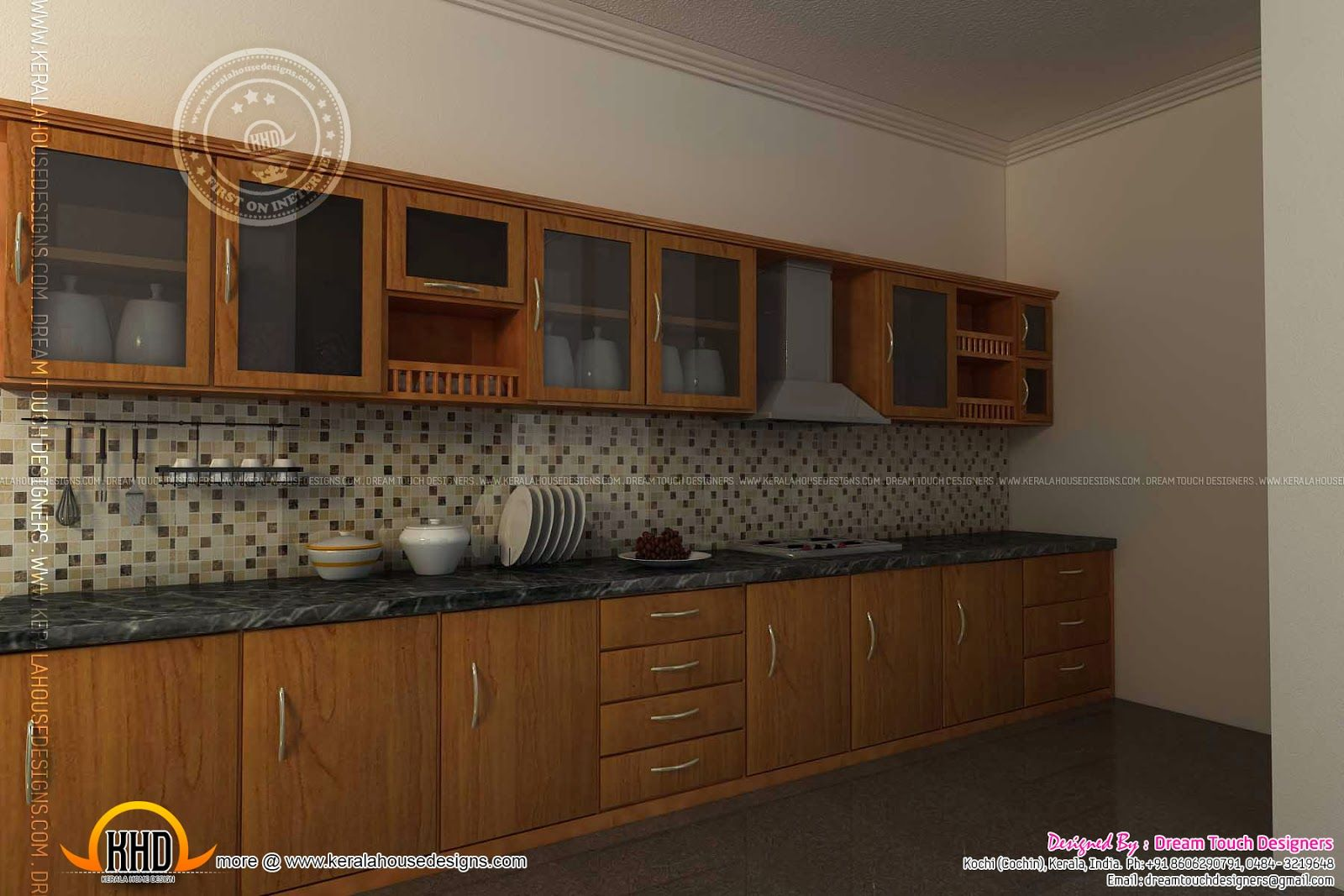 Kitchen cabinet doors in bangalore first time in india architect - Kitchen Interiors Contact Interior Design Kochi Ernakulam Kitchen Interior Views Ss Architects Cochin Home Kerala Plans