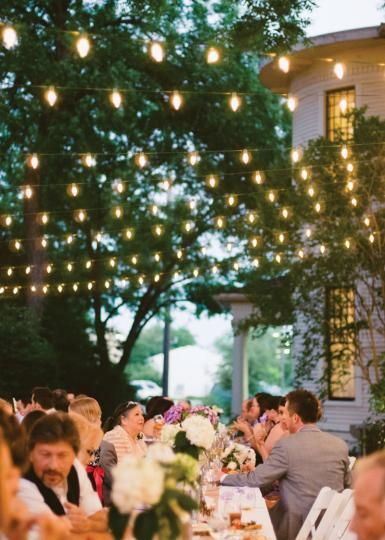 Pretty Outdoor Lighting Perfect For An Wedding We Can Make Are Based In Tuscany Italy