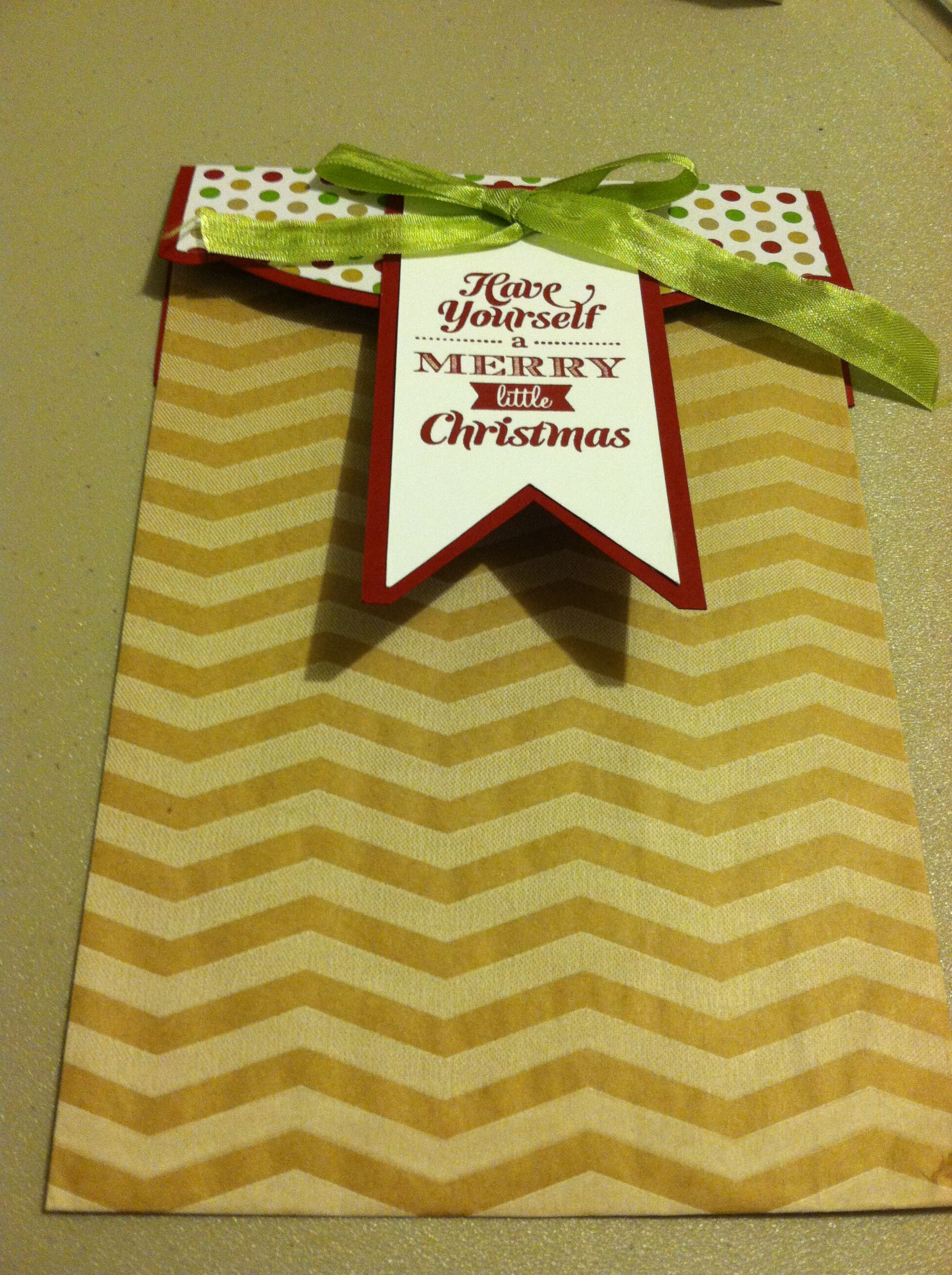 Paper Bag Decorating | Gift tags, Little christmas, Crafts