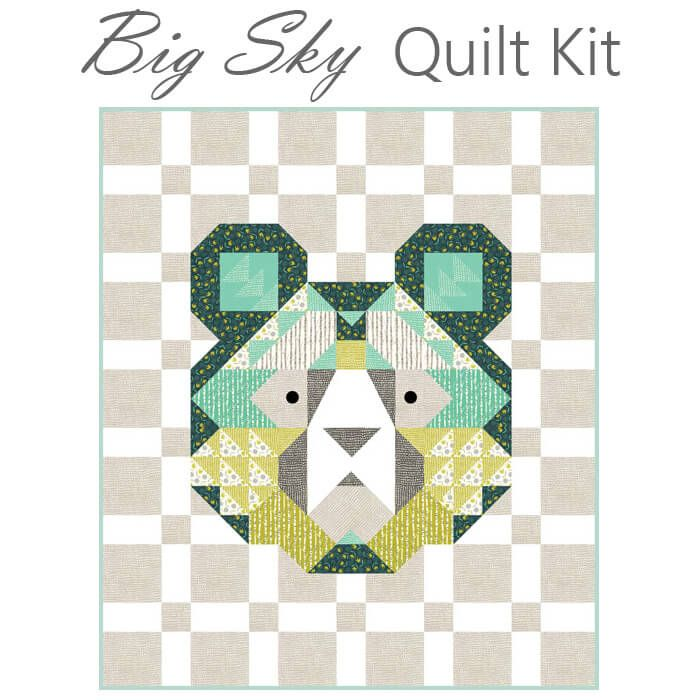 Big Sky Quilt Kit From Moda Fort Worth Fabric Studio Sky Quilt Quilt Kit Quilts