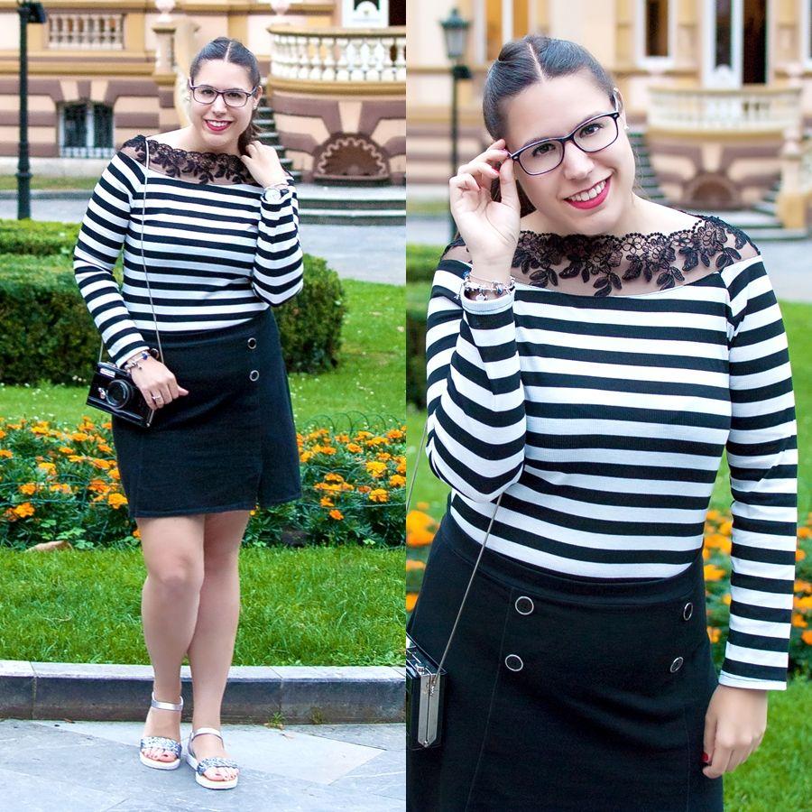 Black stripes for Summer! - Temporada: Primavera-Verano - Tags: mimalditadulzura, fashion, fashionblogger, ootd, look, outfit -  #FashionOlé