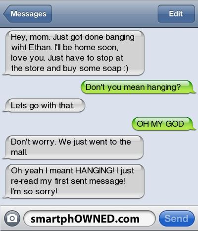 Bahha - - Autocorrect Fails and Funny Text Messages - SmartphOWNED
