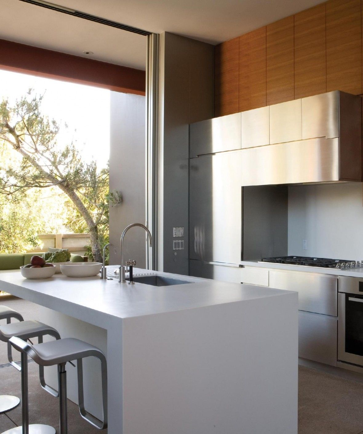 Useful Tricks To Maximize The Space Of Your Small Kitchen   Interior Design    Reducing The Appliances And Utensils Used In Your Kitchen And Increasing  The ...