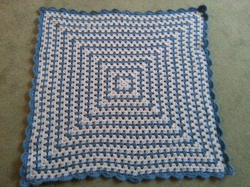 Granny Square Lap Blanket Vanna White Pattern And Yarn Crochet